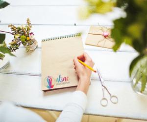bloggen voor online mediteren